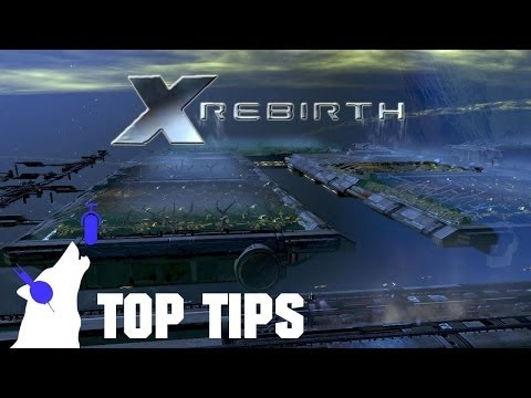 X rebirth tips - food rations and building a station