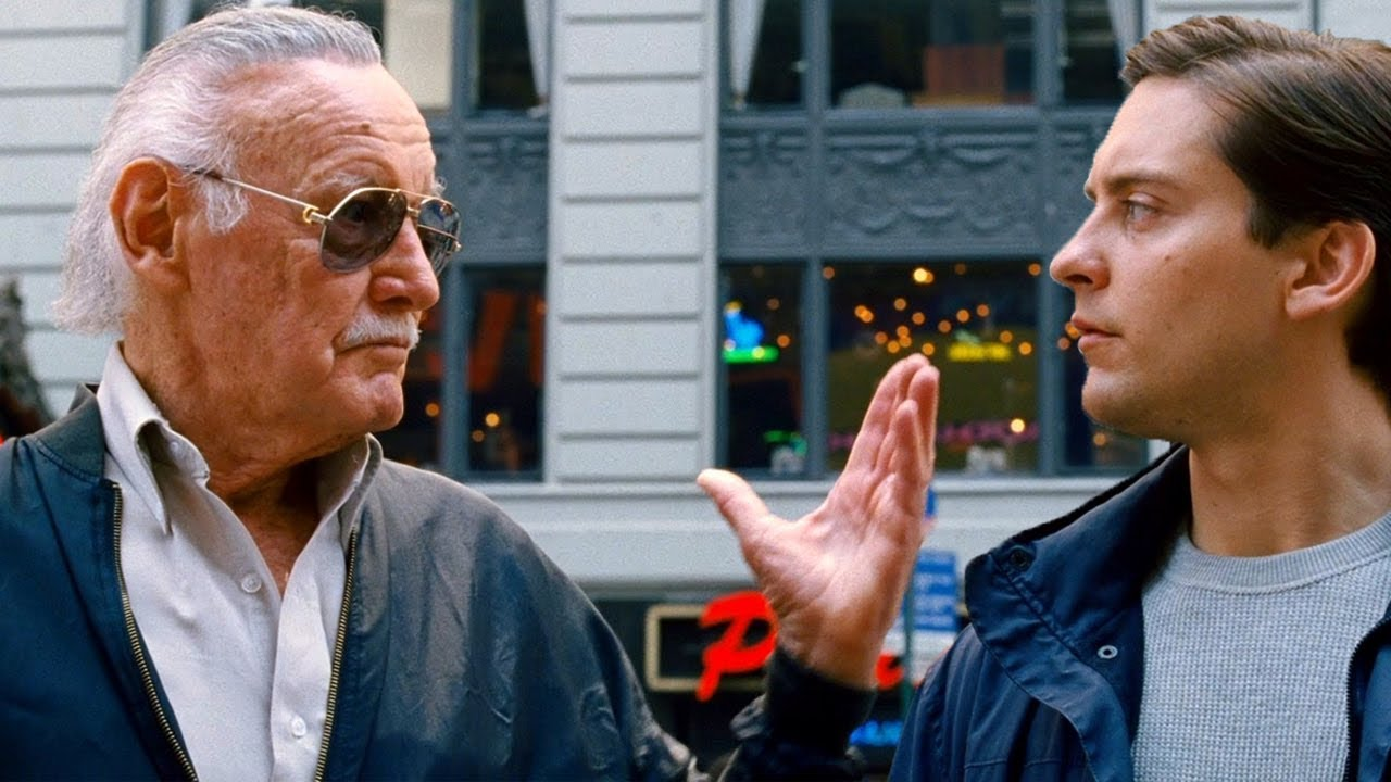 "i guess one person can make a difference"" - stan lee cameo - spider"