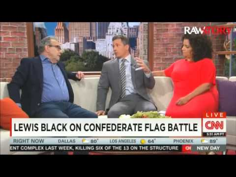 Lewis Black talks to CNN about the Confederate flag