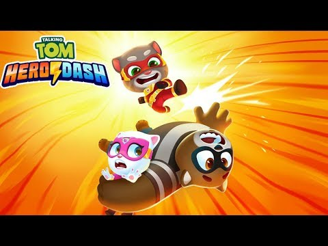 Talking Tom Hero Dash - New Update Teamwork SuperPower