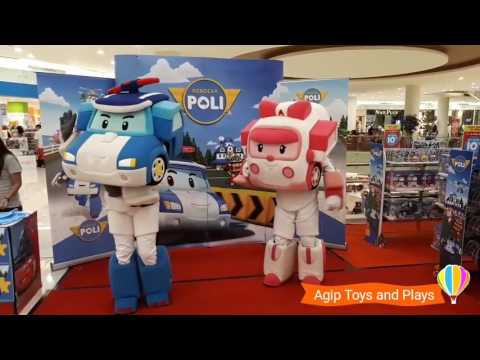 Robocar Poli Opening Song Indonesia Live Action!!