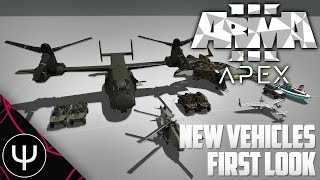 ARMA 3: Apex Expansion — New Vehicles First Look!