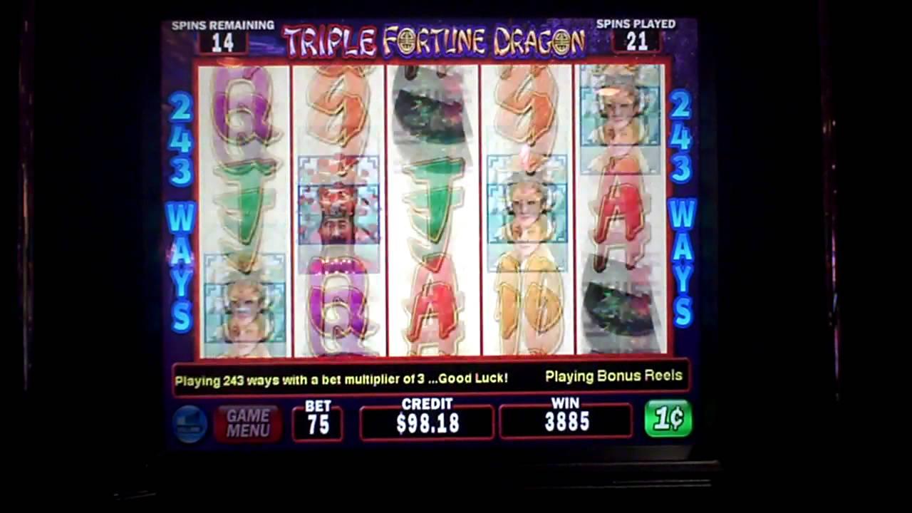 Triple Dragon Slot Machine
