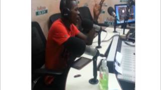 Strongman on Adom FM Kasahare Level with Pope Skinny.