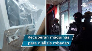 Según la fiscal capitalina, Ernestina Godoy, agentes de la Policía de Investigación en coordinación con la policía capitalina, catearon un predio en la colonia Obrera en donde se hallaron los equipos