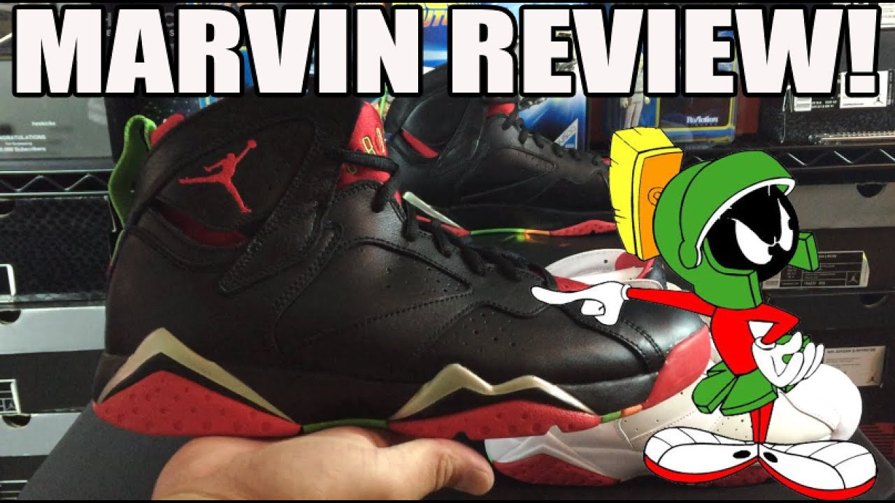 Marvin the Martian  Air Jordan 7 VII Retro Review + On Feet (My Favorite  New AJ7 ) e9a4c3022