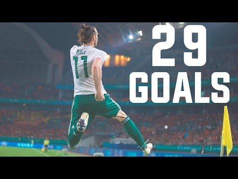 Gareth Bale - All 29 Record Goals For Wales 2006/2018