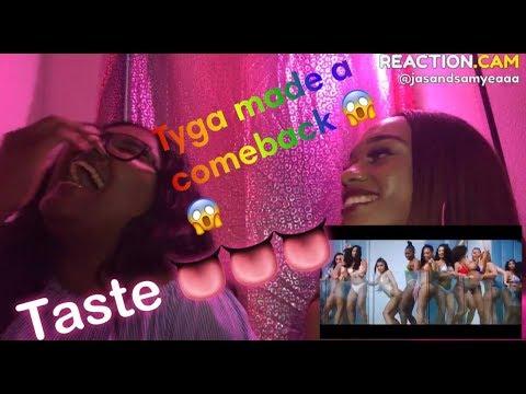 Tyga - Taste (Official Video) ft. Offset **REACTION**
