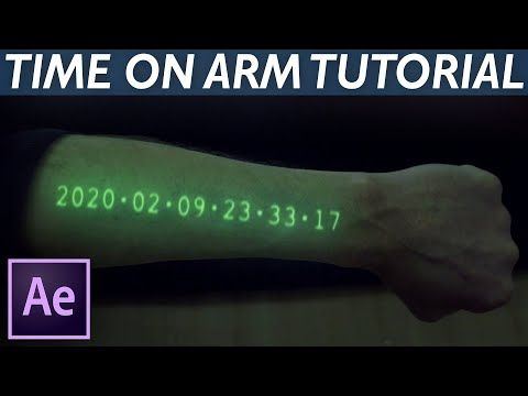 Transparent Watch Hologram (In Time) - After Effects VFX Tutorial