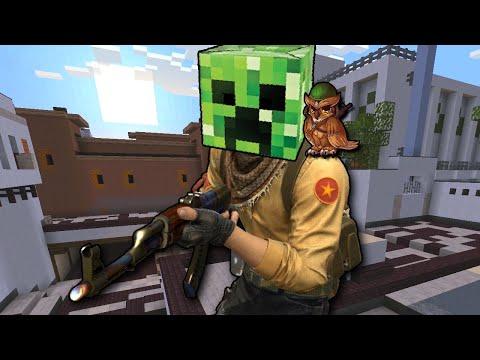 Counter-Strike But It's Minecraft