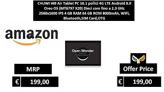 CHUWI Hi9 Air Tablet PC 10.1 pollici 4G LTE Android 8.0 Oreo OS