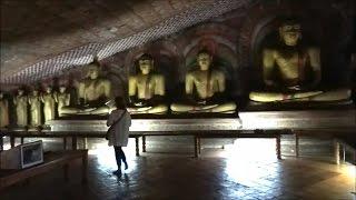 Dambulla Cave Temples Sri Lanka.