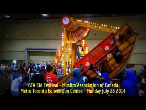 HiMY SYeD -- GTA Eid Festival, Metro Toronto Convention Centre, Toronto, Canada, Monday July 28 2014