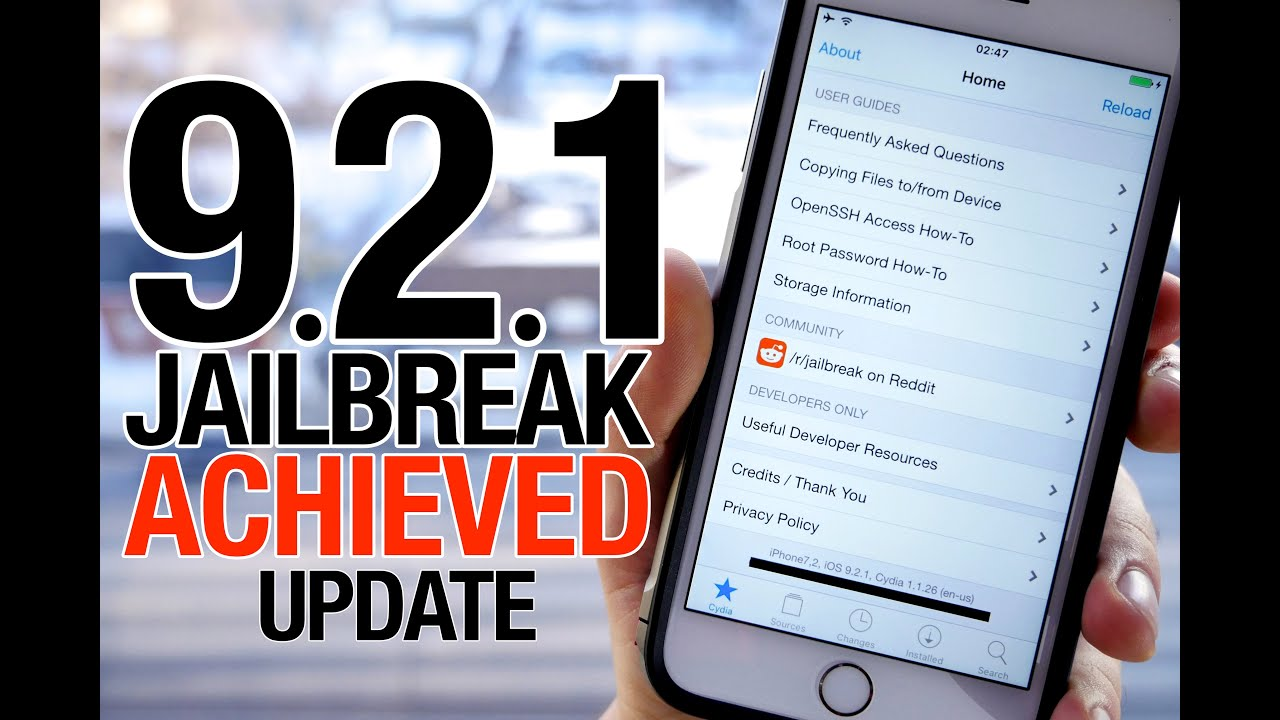iOS 9.2.1 Jailbreak Achieved! iOS 9.2 \u0026 9.2.1 Jailbreak Update - YouTube