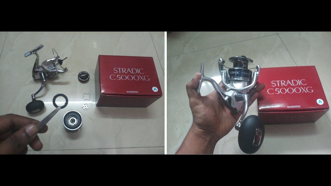 Shimano Stradic FK 5000XG With Carbontex Washer Aliexpress Unboxing