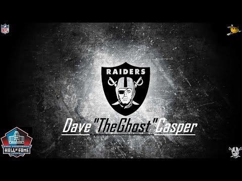 Dave Casper (The Ghost) NFL Legends