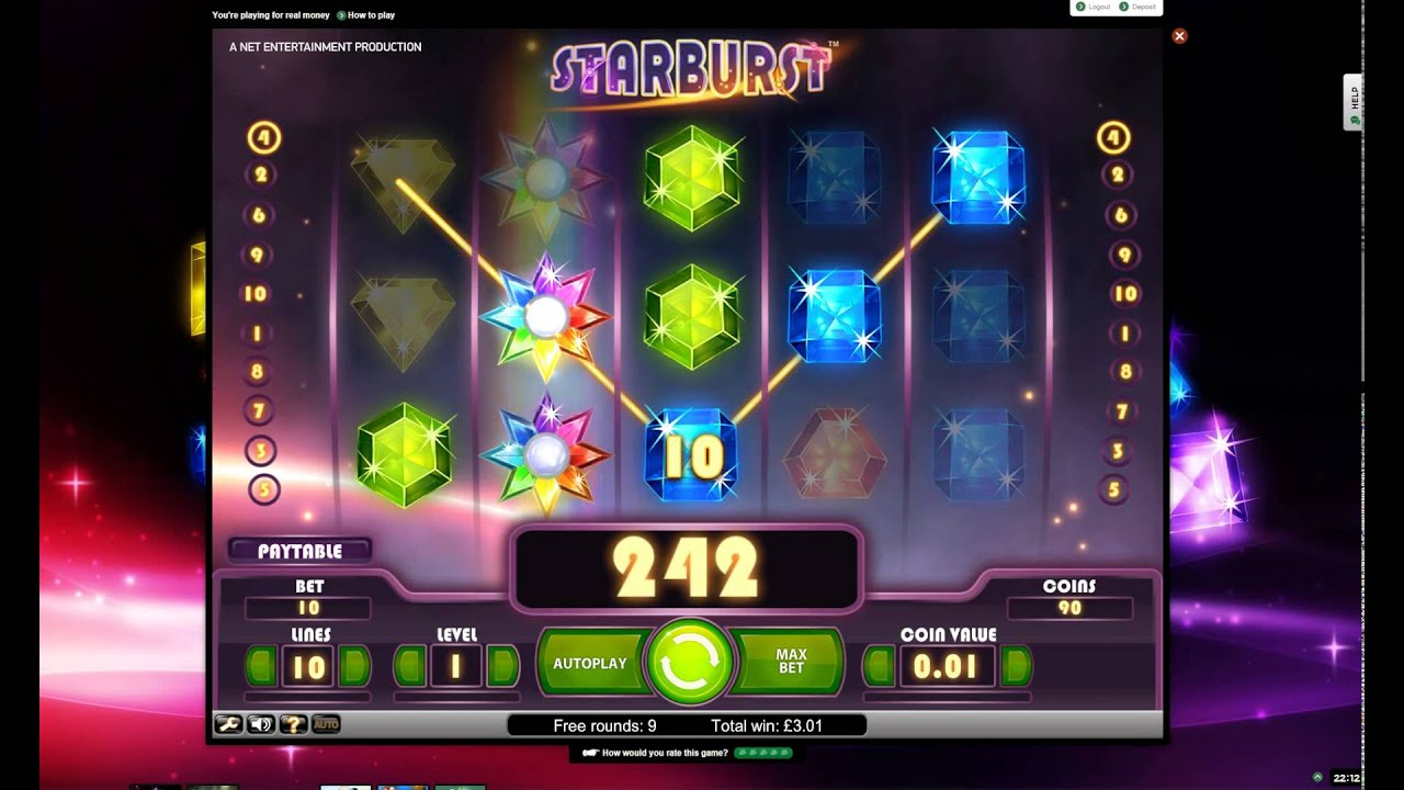 free play online casino starburts