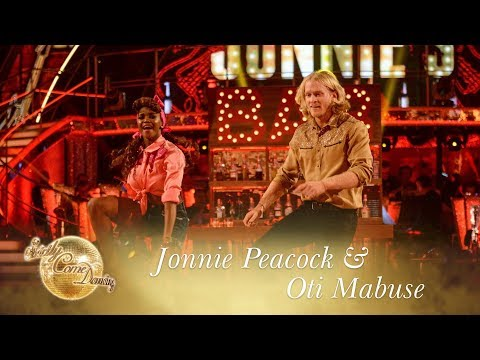 Jonnie Peacock and Oti Mabuse Jive to 'Johnny B. Goode' - Strictly Come Dancing 2017