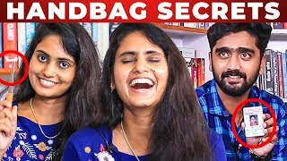 KNIFE in Nakkalites Srija HANDBAG..!! | VJ Venkat Roasted | Whats Inside The Handbag