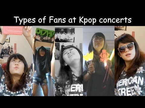Fans at Kpop Concerts [Charissahoo]