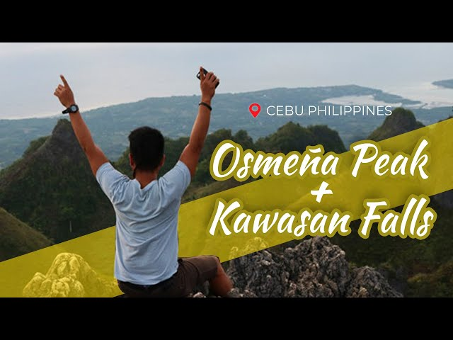 Camping in Cebu's Osmeña Peak  + Traversing to Kawasan Falls 2019