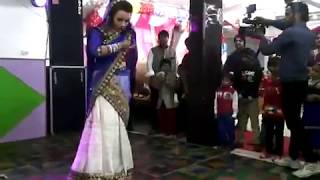 Russian wife dance Indian song PART 1