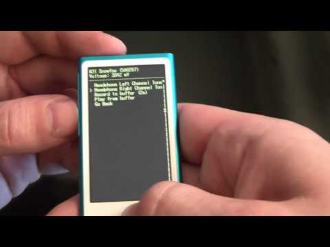 How To Get A 7th Generation ipod Nano Into Diagnostic Mode
