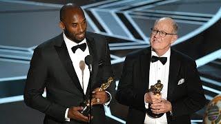 Kobe Bryant Wins Oscar For Best Animated Short & Takes Shot At Fox News Laura Ingraham