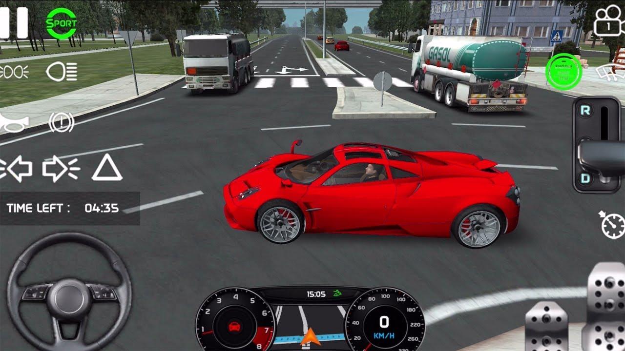 Real Driving Sim 11 Ferrari Laferrari Unlocked Car Games Android Gameplay Youtube