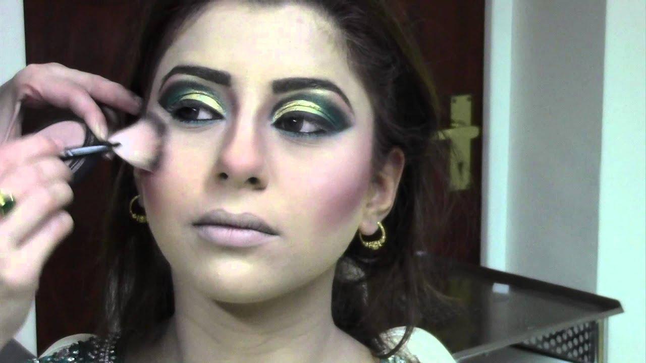 illusionz salon - wedding hair & make-up video - sara's baraat