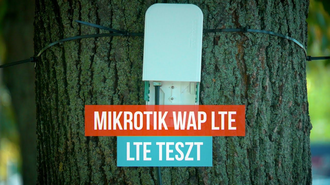 Mikrotik wAP LTE Kit test - ENGLISH SUBTITLES
