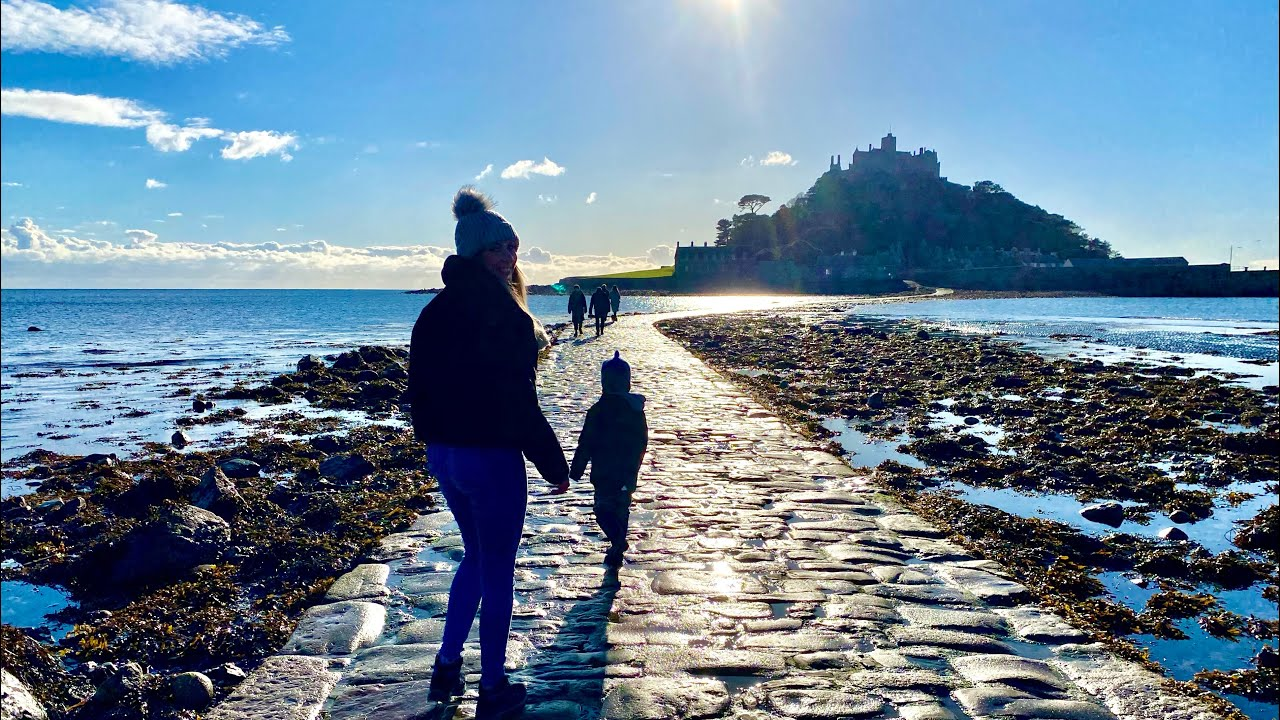 Coastal Exploring and Rockpooling in Cornwall - St Micheal's Mount