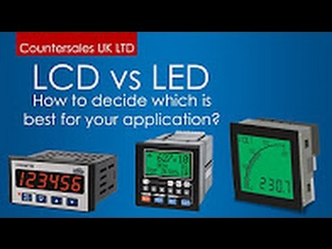 LCD vs LED Industrial Displays