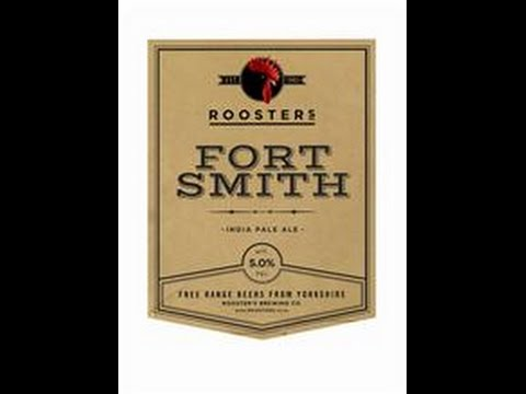 Rooster's Brewing Co - Fort Smith (India Pale Ale) 5% (With Harry Meadows)