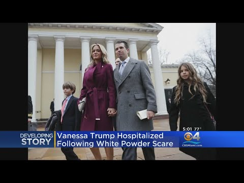 Donald Trump Jr.'s Wife Exposed To White Powder