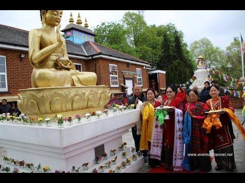 2562th  Buddha Jayanti Celebration In UK. Organised By  BCCUK