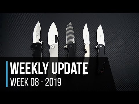 Weekly Update 8 - 2019: Emerson Tiger, Liong Mah Field Craft, ZT 0562TS Sprint & More!