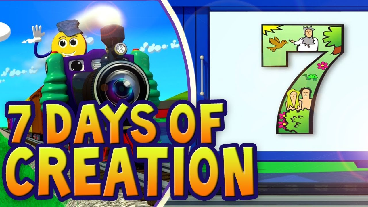 days of creation for children pictrain youtube