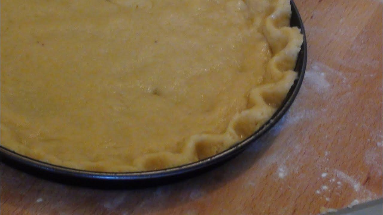 Pasta Frolla Alle Mandorle Youtube