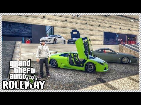 GTA 5 ROLEPLAY - Visiting New Hoonigan Car Garage | Ep. 258 Civ