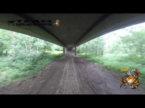 # 6 ZMR 250 FPV Racer -  Under The Bridge Incl. Crash - Team RMK - Gopro Hero 3+