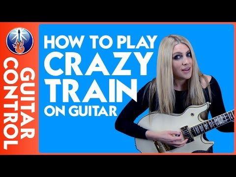 how to play crazy train on guitar ozzy osbourne riff lesson youtube. Black Bedroom Furniture Sets. Home Design Ideas