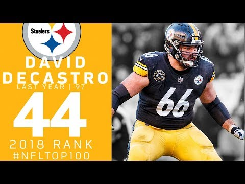 #44: David DeCastro (G, Steelers) | Top 100 Players of 2018 | NFL