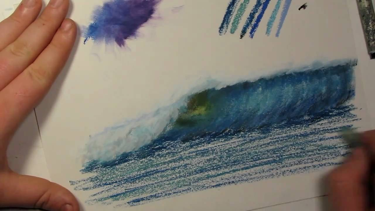 Tips and Tricks #1~ How to Blend Oil Pastels - YouTube