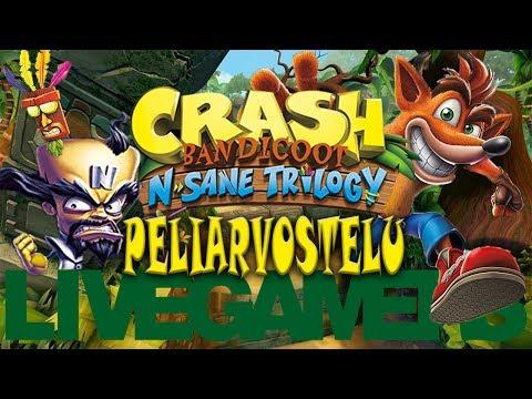LG Peliarvostelu - Crash Bandicoot N. Sane Trilogy