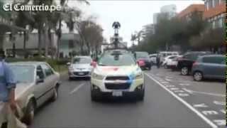 Inicio del recorrido de los vehículos de Google Street View en el Perú Free HD Video