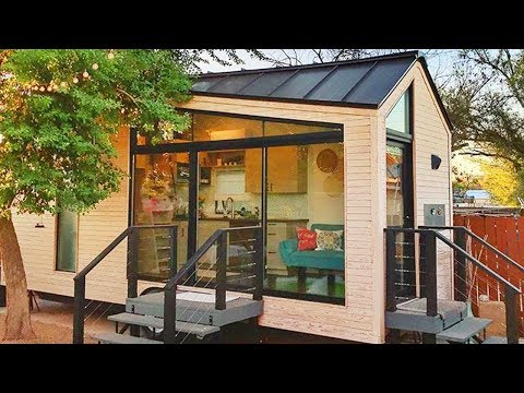 Stunning The Nest Tiny House on Wheels Is Available For Sale | Living Design For A Tiny House