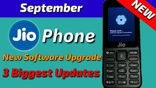 3 Biggest Updates In Jio Phone (File Manager, View History, Large Text) | New Software Upgrade