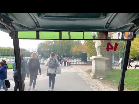 Versailles, France vlog Part 2: Gardens. Rent an E-car. What to expect.