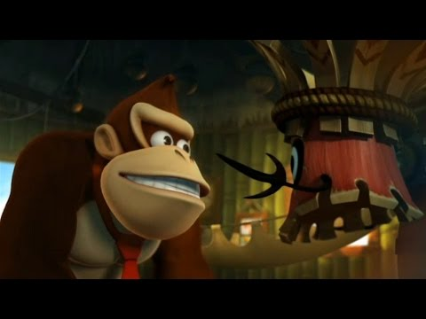 Donkey Kong Country Returns 100% Walkthrough Part 1 - World 1: Jungle (All KONG & Puzzle Pieces)